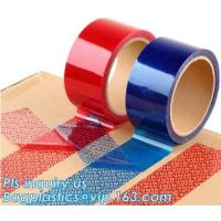 China transfer high residue tamper evident security void tape,Anti Tamper Proof Evident Security Warranty Void Tape bagease on sale