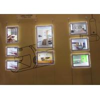 Restaurants Led Acrylic Light Box DisplayDouble Sided A4 Size For  Advertising Manufactures