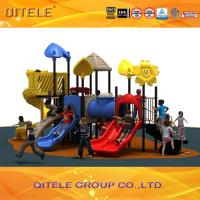 High quality LLDPE material kids outdoor playground equipment for amusement park Manufactures