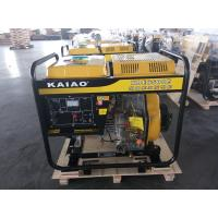 Professional Small Portable Diesel Generators Air Cooled CE Certification Manufactures