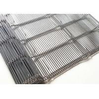 China Rod Pitch 8MM Stainless Steel Wire Mesh Conveyor Belt For Pizza Furnace on sale