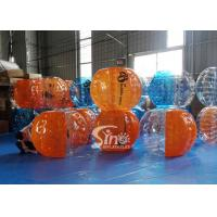 China Top quality human inflatable bubble football for kids N adults outdoor interaction sports games on sale