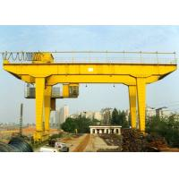 Rail Mounted Double Girder Gantry Crane Truss Type 40 - 500T Lifting Capacity Manufactures