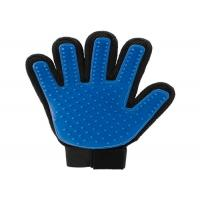 Brush Tool True Touch Pet Grooming Glove Breathable Mesh Cloth Pet Massage Glove Manufactures
