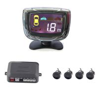 China Vehicle Backup Parking Assist Sensor With LCD Backlight Display 4 Sensors on sale