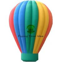 Customized Color Inflatable Advertising Balloon With Air Balloon Shape For Trade Fair Manufactures
