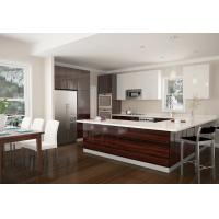 Modern plywood carcass kitchen cabinets wood veneer finish for Carcass kitchen cabinets