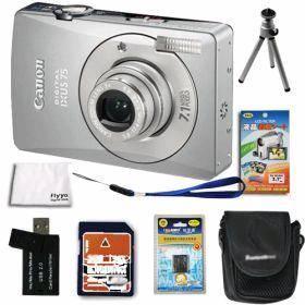 China Canon PowerShot SD750-IXUS 75 Silver 7.1MP Digital Camera on sale