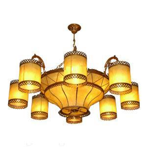glassine lamp shade cover making