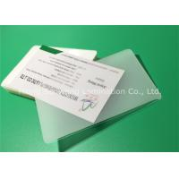 Quality Thermal Laminating Pouches Business Card Size 150 Mic With Adhesive EVA for sale