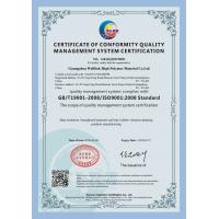 Guangzhou Welllink High Polymer Material Co.,Ltd Certifications