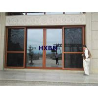 AS2208 Standard Tempered Aluminum Sliding Doors Waterproof For Residential Houses Manufactures