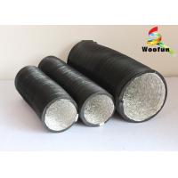 Quality Expandable Round Flexible Duct PVC Aluminum For Air Conditioning System for sale