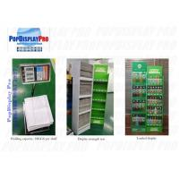 Buy cheap Beverage Drinks Floor Shelf Pop Up Display Stands 5 Tiers 76kgs Holding Capacity from wholesalers