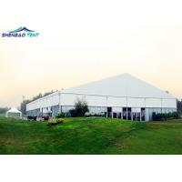 China Luxury Aluminum White Outdoor Event  MarqueeTents for 500 Seater on sale