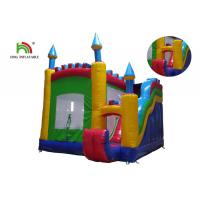Buy cheap Outdoor 0.55mm PVC Tarpaulin Inflatable Jumping Castle With Slide For Rent from wholesalers