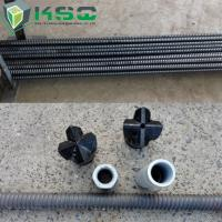 R25N Hollow Self Drilling Anchor Bolt For Slope / Foundation Pit ,  Zinc Galvanized Color Manufactures