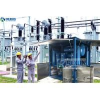 Fully Enclosed Type Online Working Vacuum Transformer Oil Purification Machine with Big Capacity Manufactures