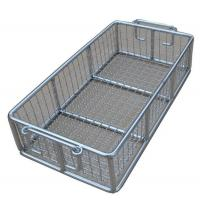 China Stainless Steel Metal Wire Basket for fruit washing / frying /steaming on sale
