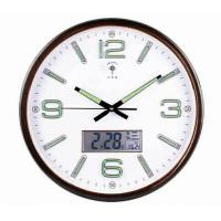 Hot selling home decor promotion cheap plastic wall clock clock wall clock Manufactures