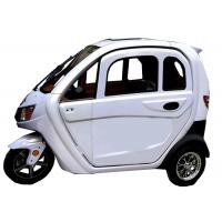 ECO Electric Passenger Tricycle 3 Wheels Aluminium Wheel 60V 1200W Energy Saving Manufactures
