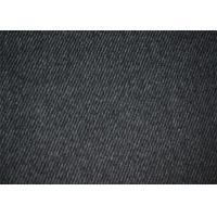 Hongmao Waterproof Woven Wool Fabric Black For Winter Overcoat Manufactures