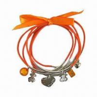 OEM CCB Fashionable Cord Bracelet for Promotional Gifts, Available in Various Designs, Acrylic Drops Manufactures