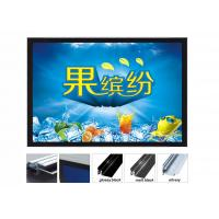 Acrylic Illuminated Poster Displays, Super Slim Exhibition Light Boxes For Trade Show Manufactures