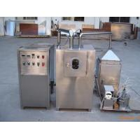 China Fully Automatic Tablet Coating Machine Dry Function For Pellet / Pills / Seed on sale