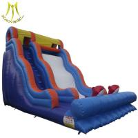 China Hansel cheap wholesale small inflatable air track inflatable kids toys for water park on sale
