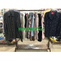 China Mixed Color Mens Used Clothing Cotton Material Used Mens Shirts Long Sleeves on sale
