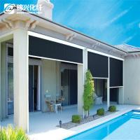 70% PVC 30% Polyester Blackout Vertical Window Blinds For Hotel Sunscreen Curtain Manufactures