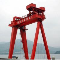 China Double Beam Gantry Crane  By Mobile Electric Trolley 90 T Cabin Or Remote Control for sale