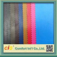 China 0.4mm Colorful PU Synthetic Leather / Artificial Leather Fabric For Bag wholesale