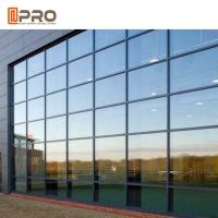 Hidden Framing Coated Glass Curtain Wall System For Exterior High Buildings Manufactures