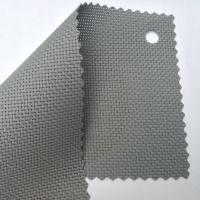 fireproofing sun shade screen mesh fabric UV Resistant in gray color Manufactures