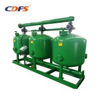High Flow Rate Automatic Sand Filter 24 - 48 Inch Tank Size Stainless Steel Material Manufactures