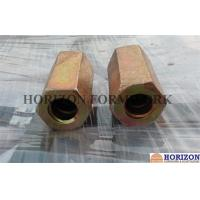 Steel Q235 Hex Rod Coupling Nut100/110mm Length Equipped With Stop - Pin Manufactures