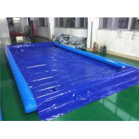 Durable Inflatable Car Wash Mat / Auto Washing Tool Inflatable Water Containment Mat Manufactures