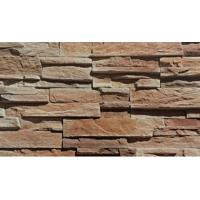 China Handmade Rustic Synthetic Stacked Stone / Cultured Stone Siding Panels on sale