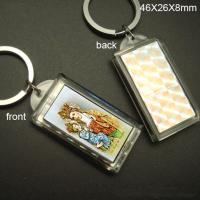 Solar Led Keychain Logo can be imprinted  46 x 26 x 8 mm Manufactures