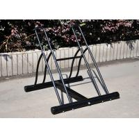 Heavy Duty Metal Powder Coated Floor Two Bicycle Display Stand Manufactures