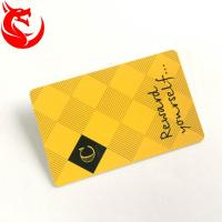 Gold Read Write Metal Wallet Card High Glossy Hot Stamping Or Magnetic Stripe Manufactures