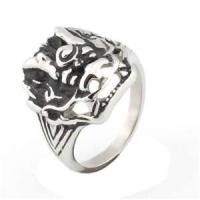 stainless steel gothic ring  Manufactures