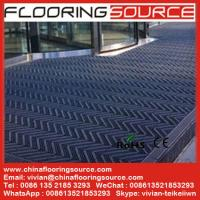 China Building outdoor entrance floor matting Scrape Dirt Non Slip for high traffic entrance on sale