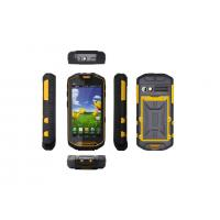 Android 4.0.4 OS Rugged Outdoor Cell Phones Long Time Battery Mobile Phone Manufactures