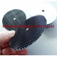 Polishing abrasive backing pad with heavy duty hook and loop fastener Manufactures