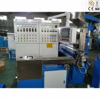 OD1.5 - 8.0mm Wire And Cable Extrusion Line Capacity 100-120Kg / Hr Manufactures