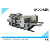 Small Taobao Printer Slotter Mini Box Making Machine , Express Cartons Printing Diecutting Machinery Manufactures