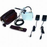 Mini Battery Airbrush Compressor with Adjustable Working Pressure, Measures 11 x 5.5 x 12cm Manufactures